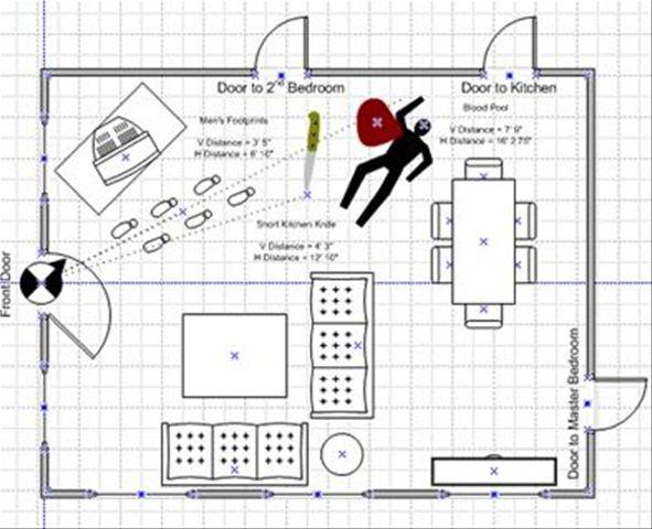 accident scene diagram