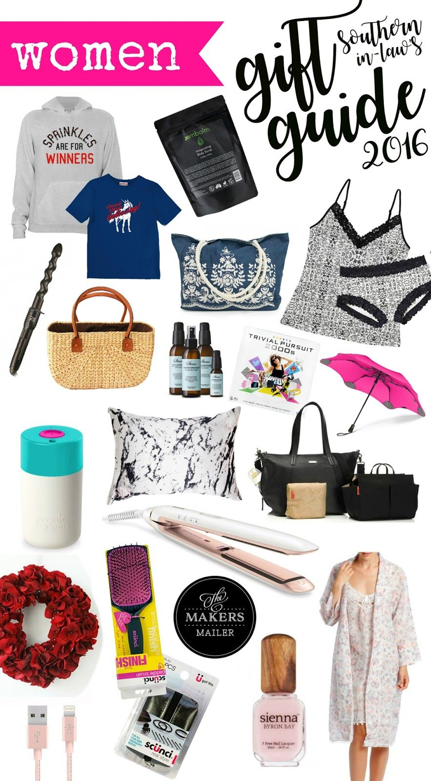 2016 Women's Christmas Gift Guide Christmas gifts for