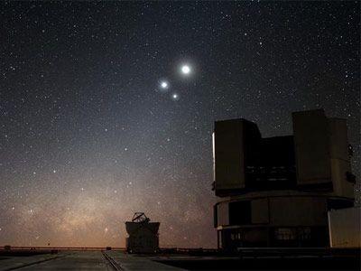 Venus y Jupiter. 2009