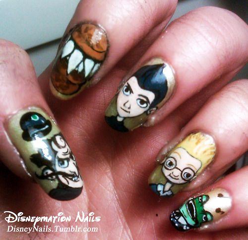 Diy Nail Ideas Doc Martens Nail Art And More Of Our: Crazy Nail Art, Disney Nails