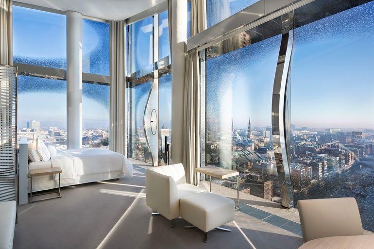 Westin Hamburg Opens In Herzog De Meuron S Brand New Elbphilharmonie Building Property Design Interior Design Magazine Hotel