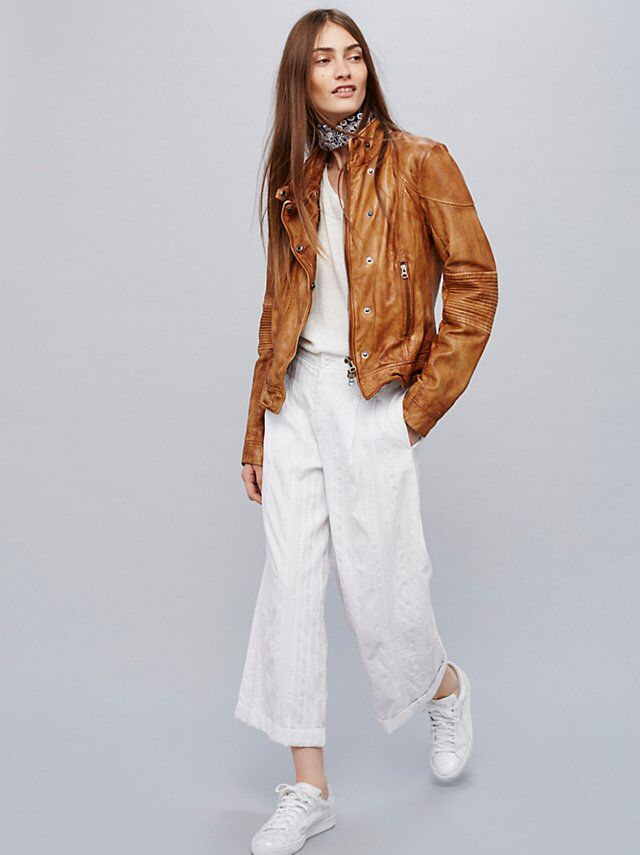 Fitted And Rugged Leather Jacket Rugged Leather
