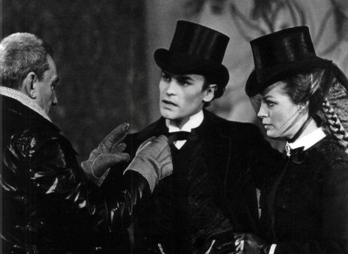 Luchino Visconti & Romy Schneider & Helmut Berger • in Ludwig 1972