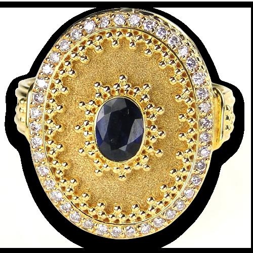 Sapphire Vasilissa Ring Antique Jewelry Jewelry Dream Jewelry