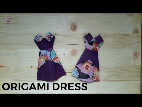 Photo of Origami Dress Tutorial (Design by Heyy Origami)