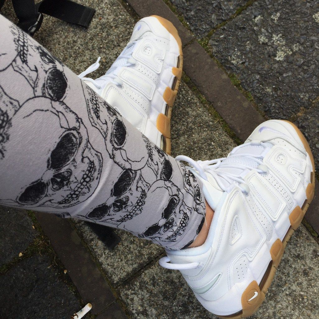 During IBE I had the chance to rock my Nike Air More Uptempo for the very