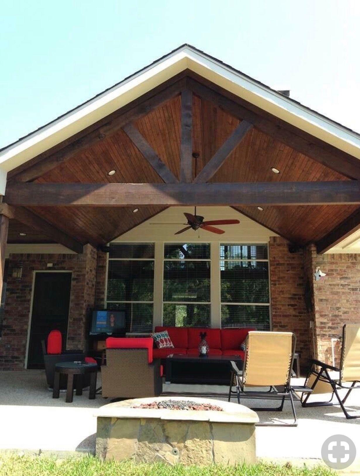 Pin By Chris Brown On Rustic Patio Design Backyard Patio Designs Porch Design