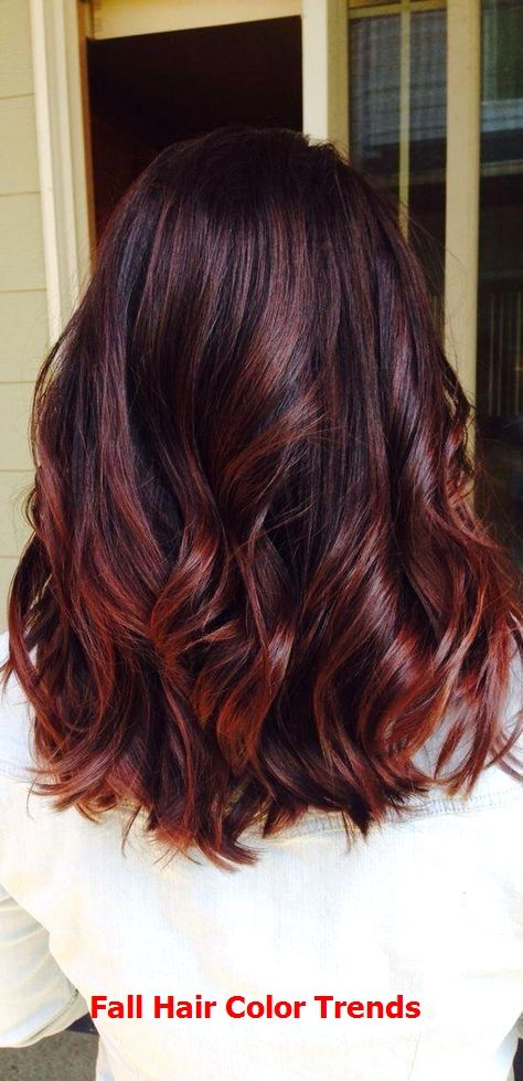 10 Pretty Layered Medium Hairstyles 2019 #fallhaircolorforbrunettes