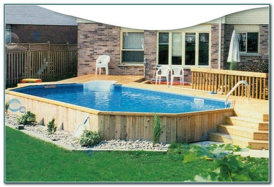 Oval Above Ground Pools With Deep End Best Above Ground Pool