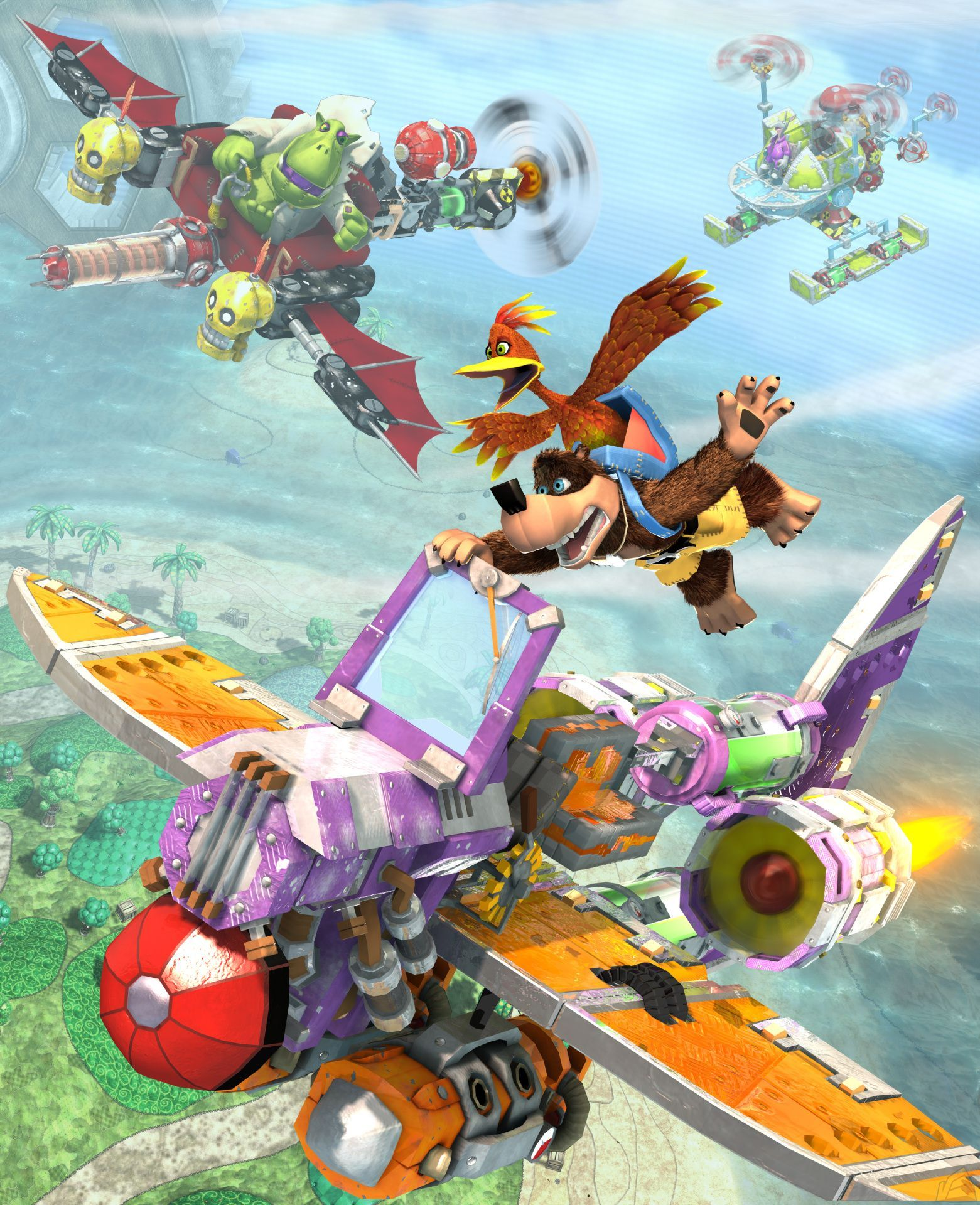 Banjo Kazooie Nuts And Bolts Google Search With Images Banjo