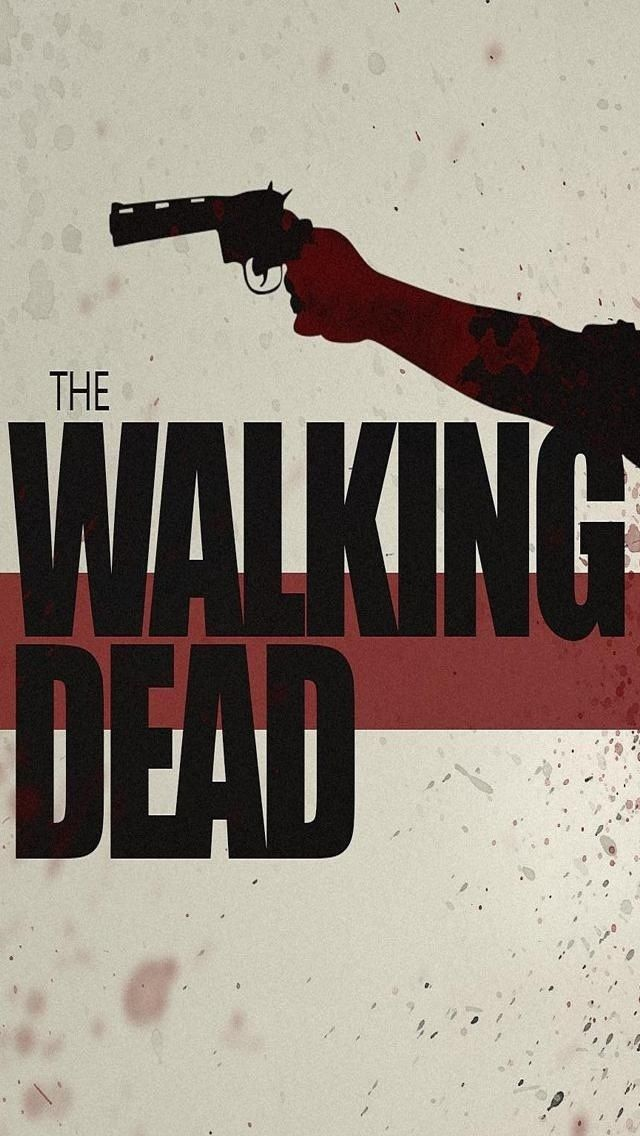 The Walking Dead Phone Wallpaper