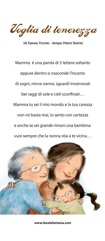 Pin Su Poesie Mamma