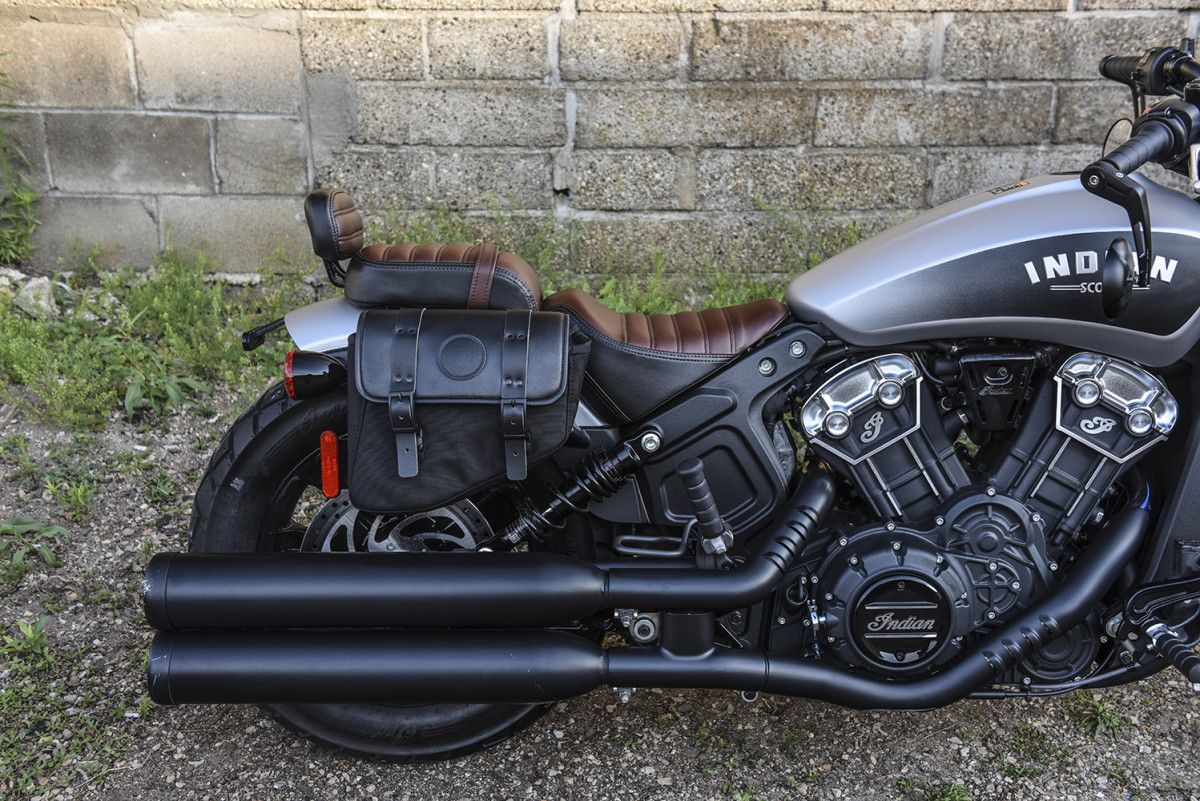 2018 Indian Scout Bobber Un Bobbed With The Passenger Seat And