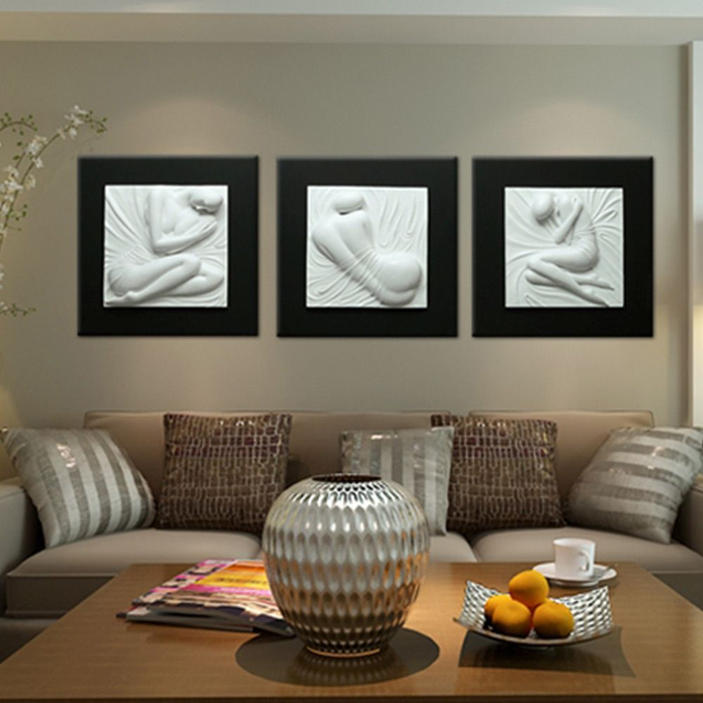 D wall art beauty set of by inuni on brands exclusive