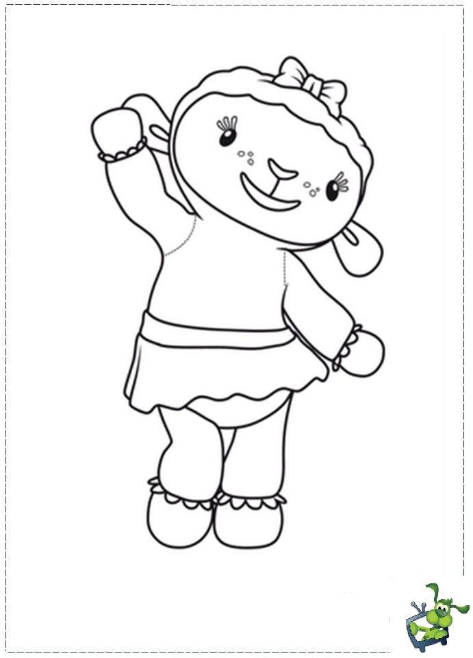 Guarda Tutti I Disegni Da Colorare Della Dottoressa Peluche Su Http Www Bambinievacanze Com 2013 Doc Mcstuffins Coloring Pages Doc Mcstuffins Coloring Pages