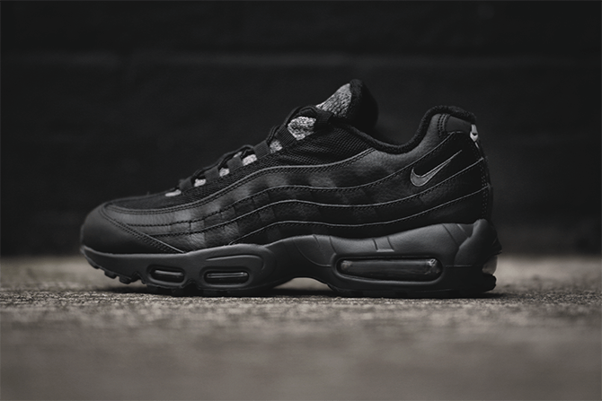 promo code 34e27 e7fe8 The Sole Supplier. Nike Air Max 95 Essential Black Grey Woven. Available  now. http