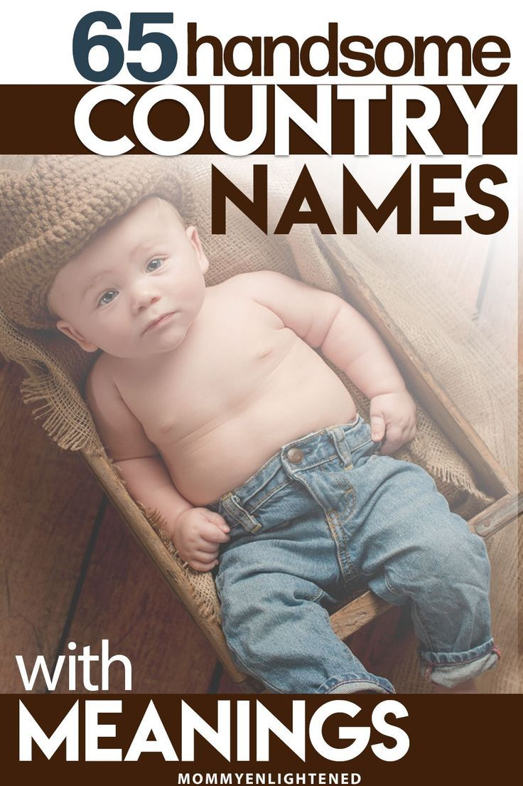 Country Boy Names for your Baby #babynamesboy