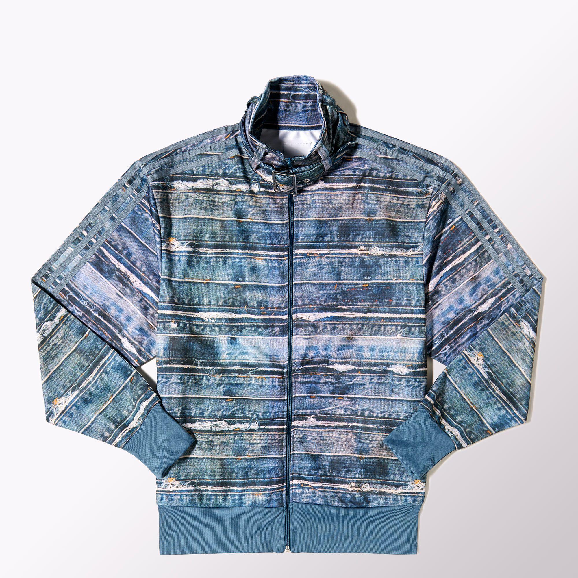 Adidas Denim Print Track Jacket Adidas Uk Jackets Track Jackets Adidas Online [ 2000 x 2000 Pixel ]