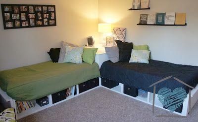 Guest Room Corner Bed Delightcreativehome Diy Corner Bed