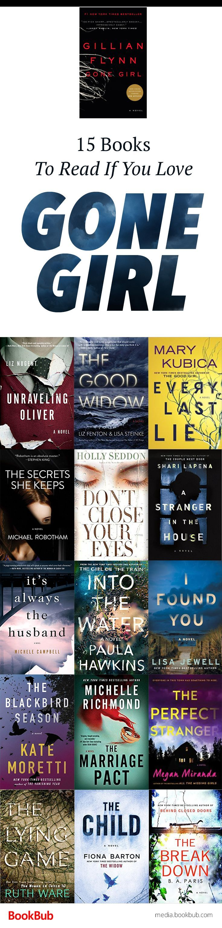 15 Books That Could Be This Summer's 'gone Girl'
