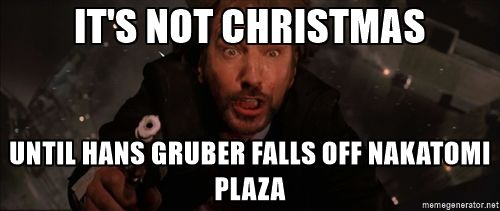 Falling Hans Gruber - It's not Christmas Until Hans Gruber falls ...