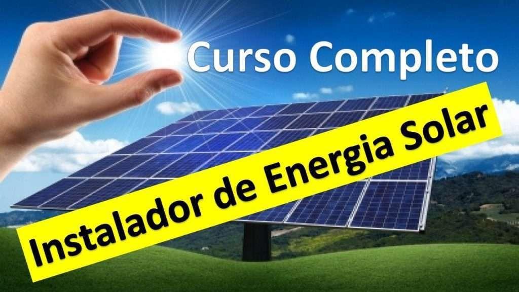 Instalador De Energia Solar Curso Completo Instalacao De Painel Solar Residencial Fotovoltaica Energia Solar Energia Solar Como Funciona Painel Solar