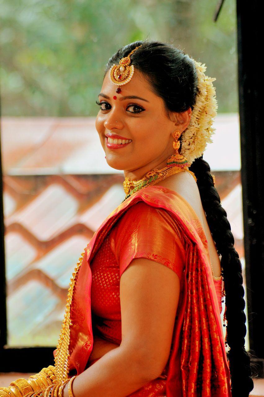 #kerala bridal makeup, #calicut wedding | Hindu bride, South indian bride, Indian bride
