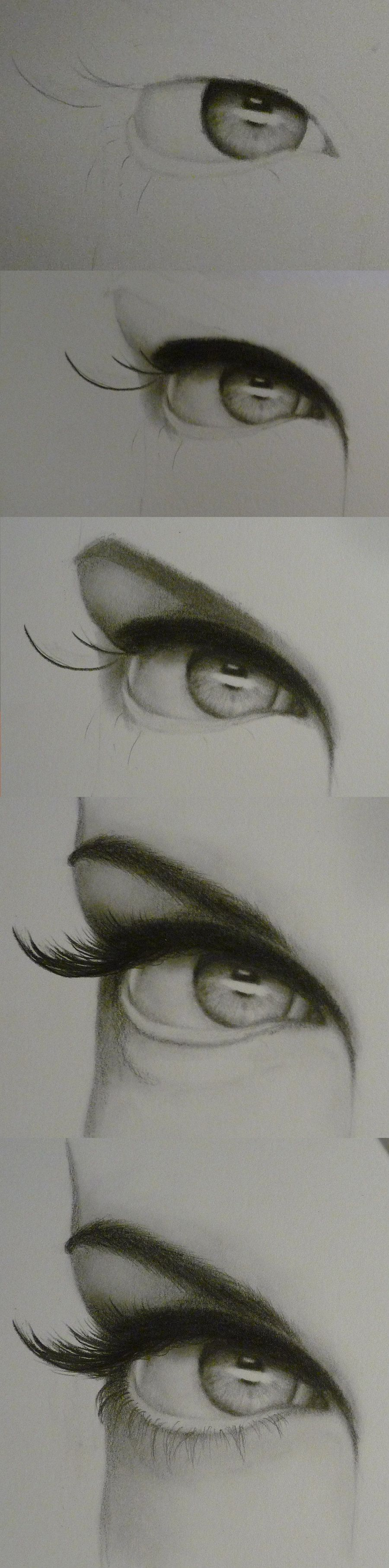 Eye Progression by ~lovedolphins10409 on deviantART