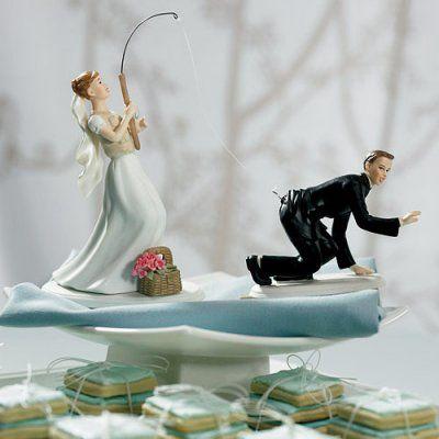 Funny Wedding Cake Toppers Fishing Wedding Cake Toppers Bride Cake Topper Funny Wedding Cake Toppers