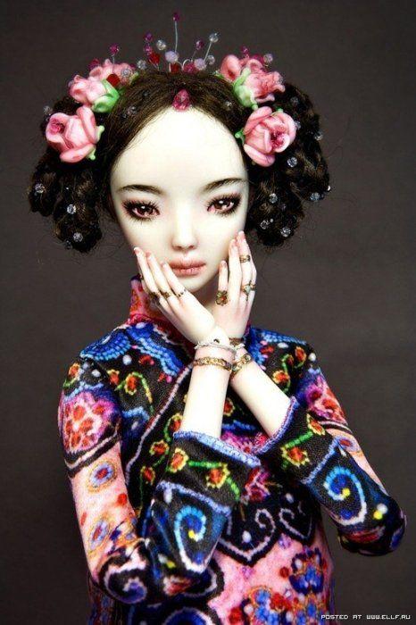 La Carpa — Lindas bonecas de porcelana.