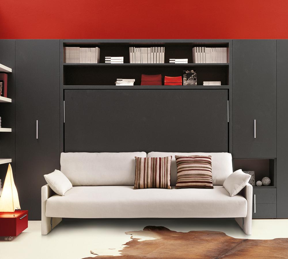 Letto scomparsa Circe Sofà con divano incorporato. Sistema ...