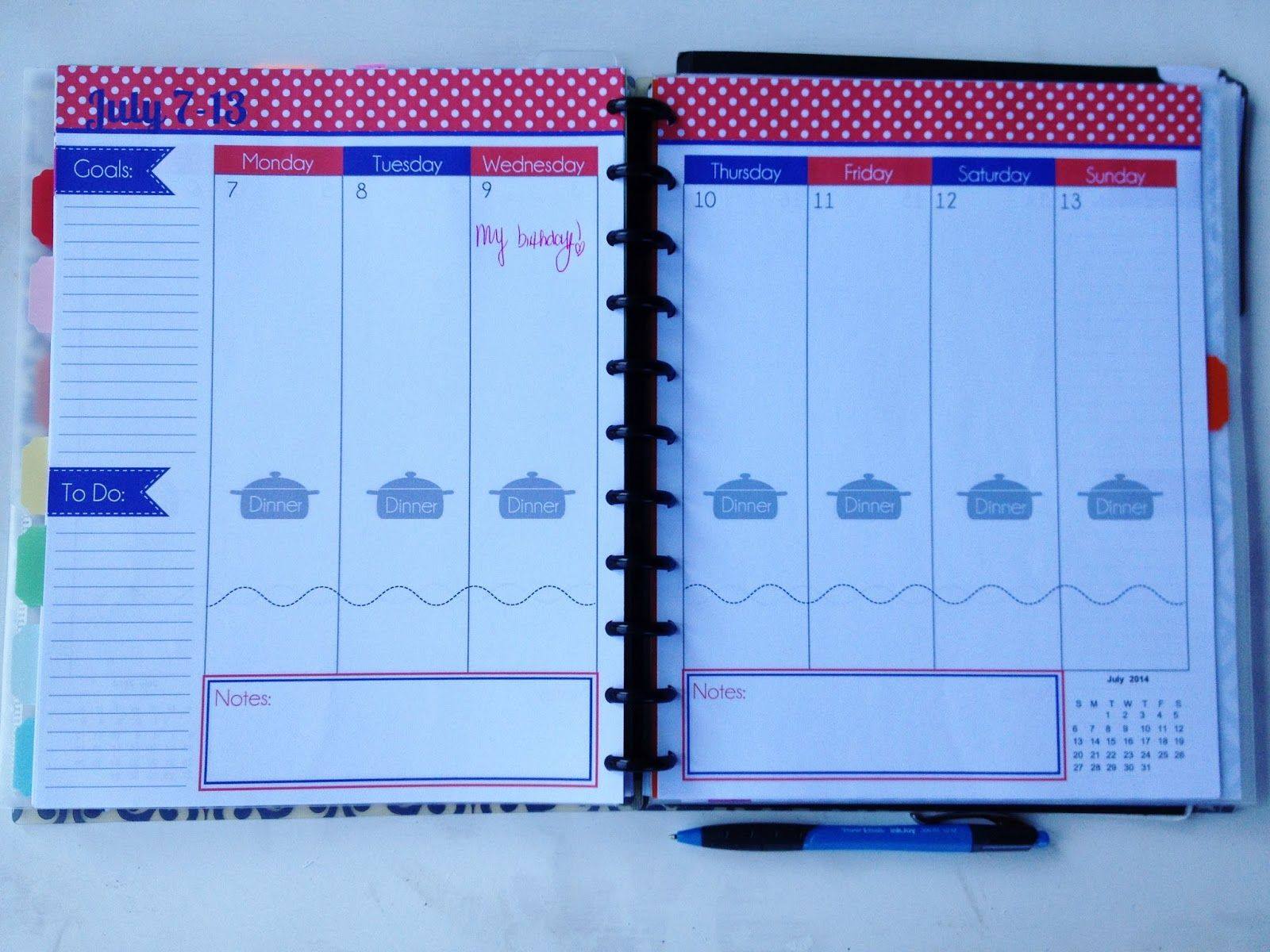 Where There is Love, There is Life: Oh how I love a good planner ...