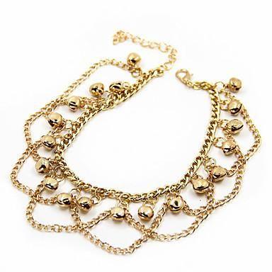 f781aa5f6f78 Golden Bells Anklet Bracelet