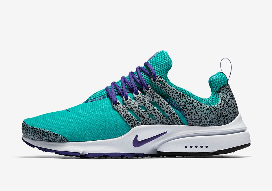 promo code cbdbc 07e56 The Nike Air Presto Safari is coming to Japan on April 27th, 2017 in 4  updated colorways featuring a classic atmos look and a Jordan 3  inspiration. More