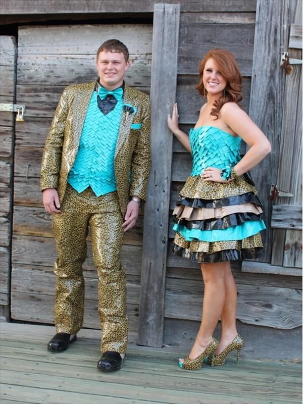 30 Cute Duct Tape Dress Ideas | 101 Duct Tape Crafts please follow ...