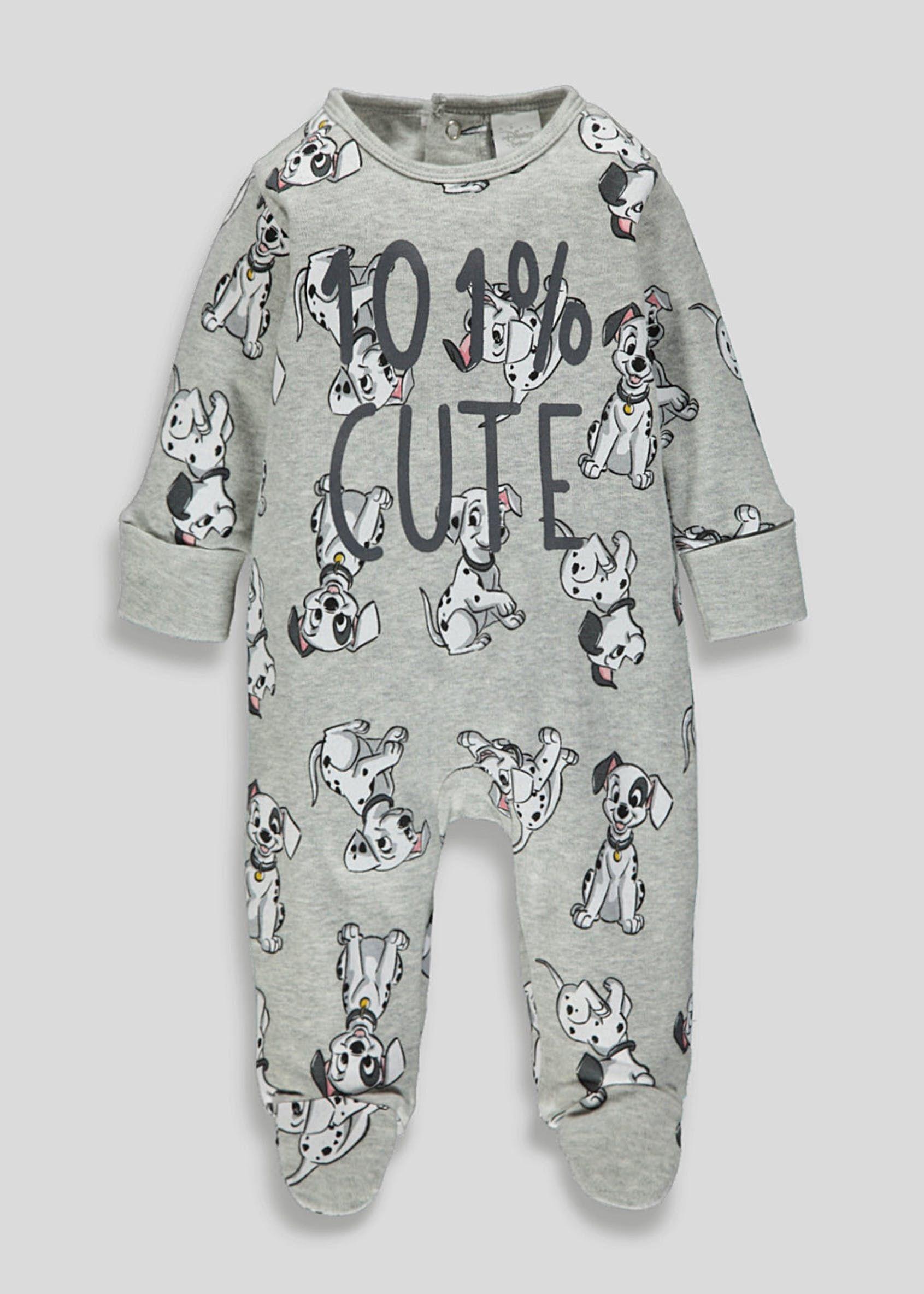 Unisex Disney 101 Dalmatians Baby Grow Newborn 12mths Grey Disney Baby Clothes Baby Boy Disney Baby Outfits Newborn