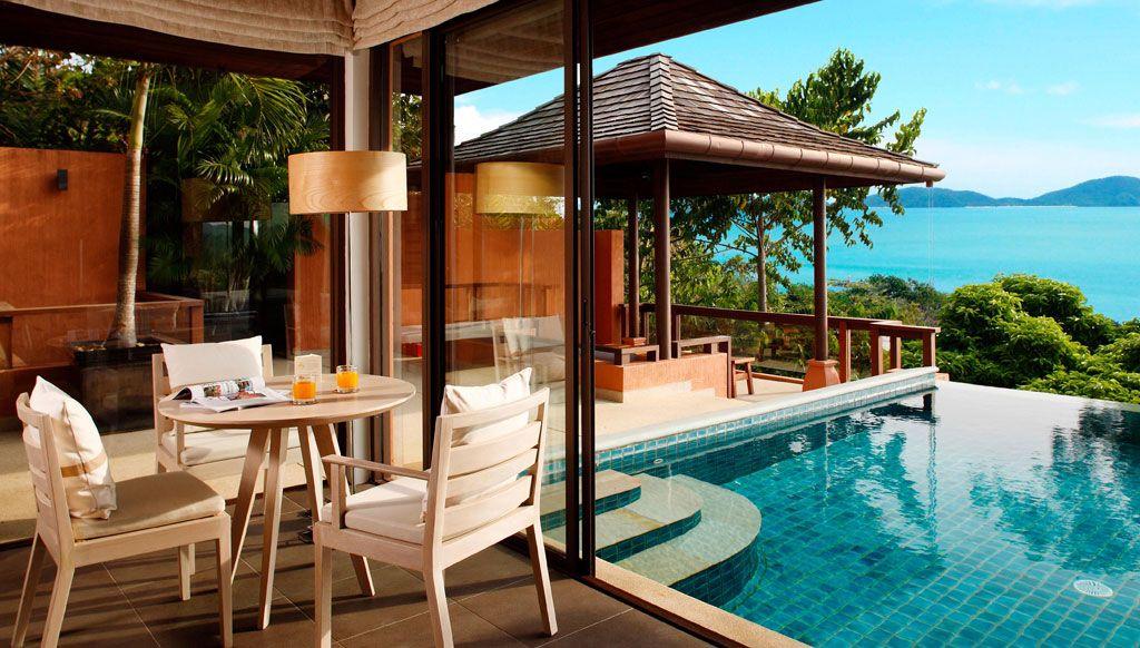 Luxury Corner at Pool Villa Private Island Sri Panwa