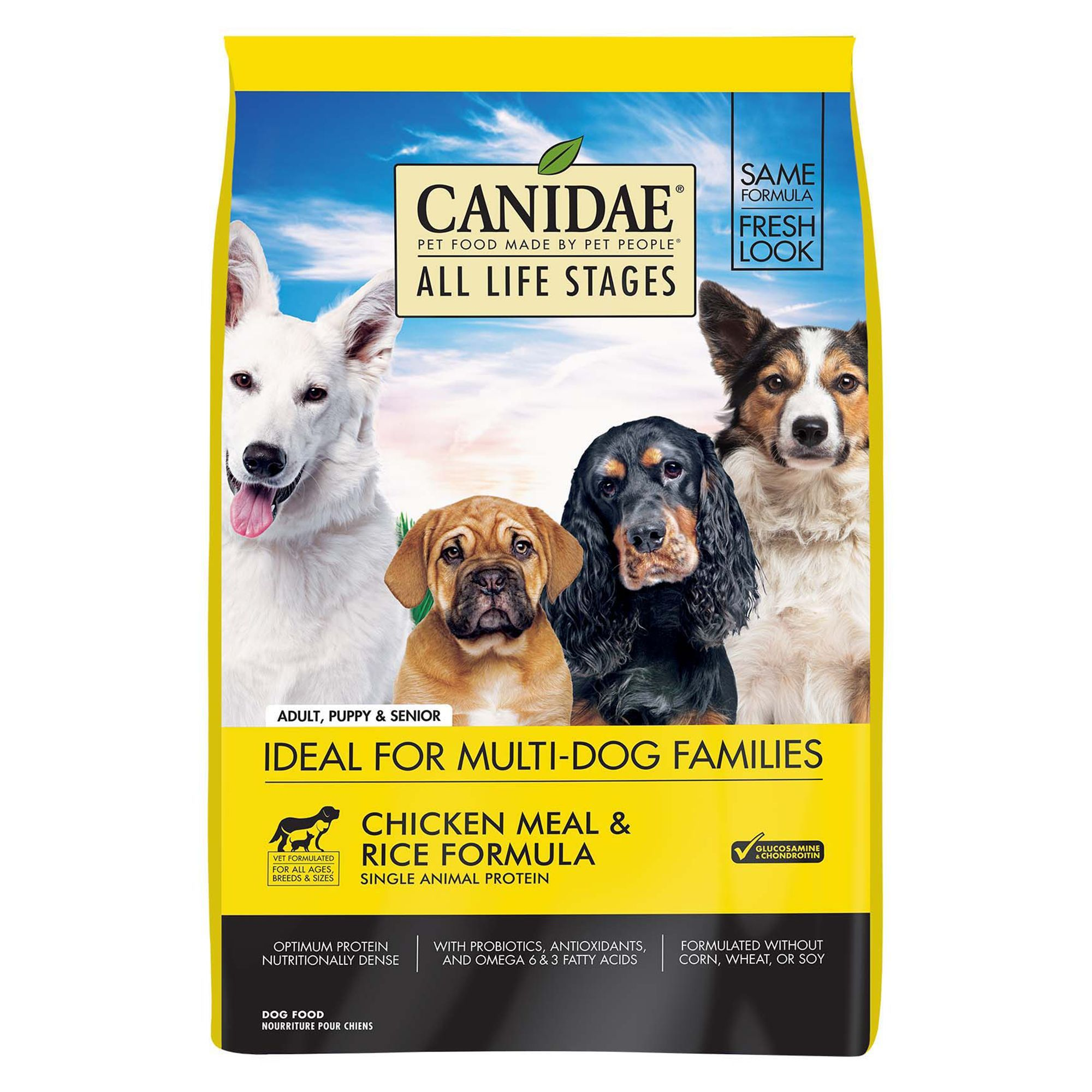 Canidae All Life Stages Dog Food Natural Chicken Size 30 Lb