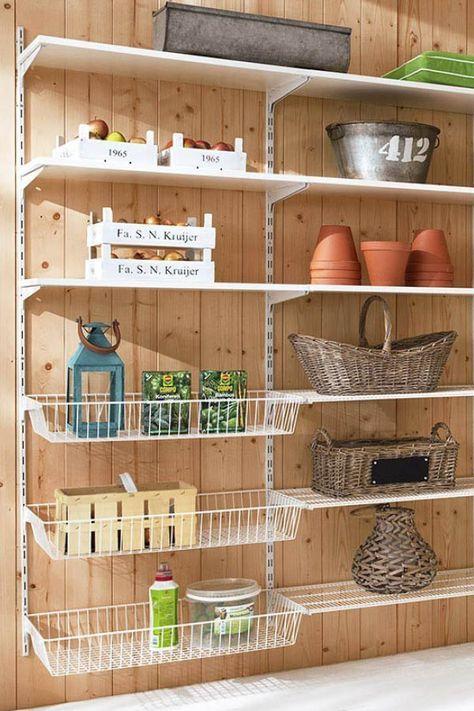Regale für Abstellraum, Keller und Garage | Hacks | Pinterest ...