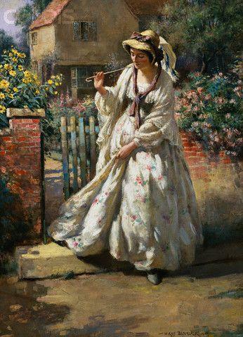 William Kay Blacklock British Painter Buscar Con Google Arte Romantico Produccion Artistica Arte Femenino