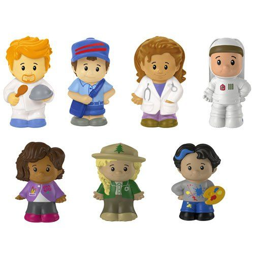 Toddler Little People Toy Boys The Rainbow Crew