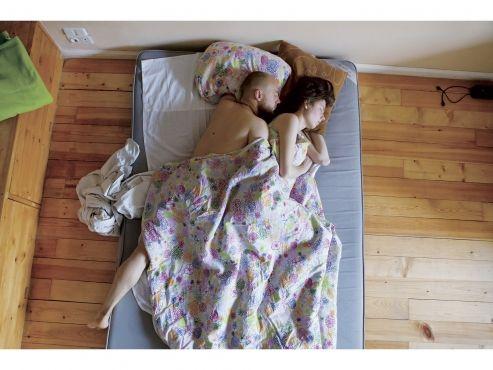 Cómo duerme realmente una embarazada (fotos)