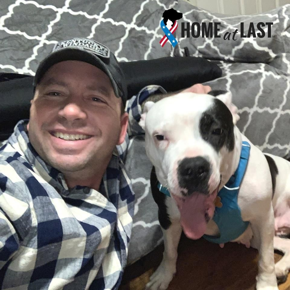We Re Thrilled To Congratulate Michael And 9 Year Old Ally On Their 6 Month Adoption Anniversary Michael Continues To Serv Pets Animal Companions Army Strong