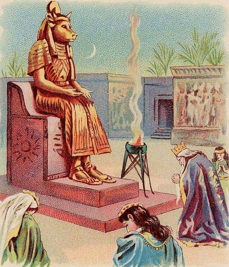 Solomon quit serving the True God,Jehovah and began to worship the false god's and idols if his pagan wives. | Bible images, Bible pictures, Bible art