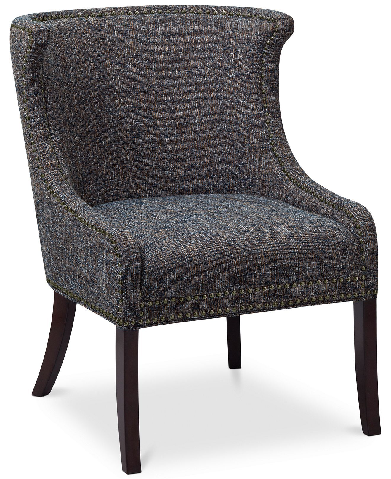 Apartment Arm Chair Accent Placement Ideas: Marissa Fabric Accent Chair, Direct Ship