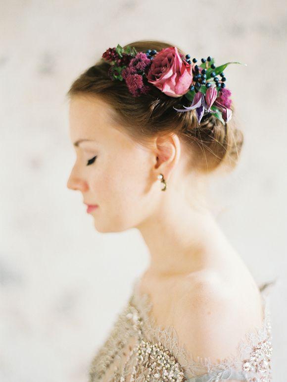 Beautiful fesh flower crown