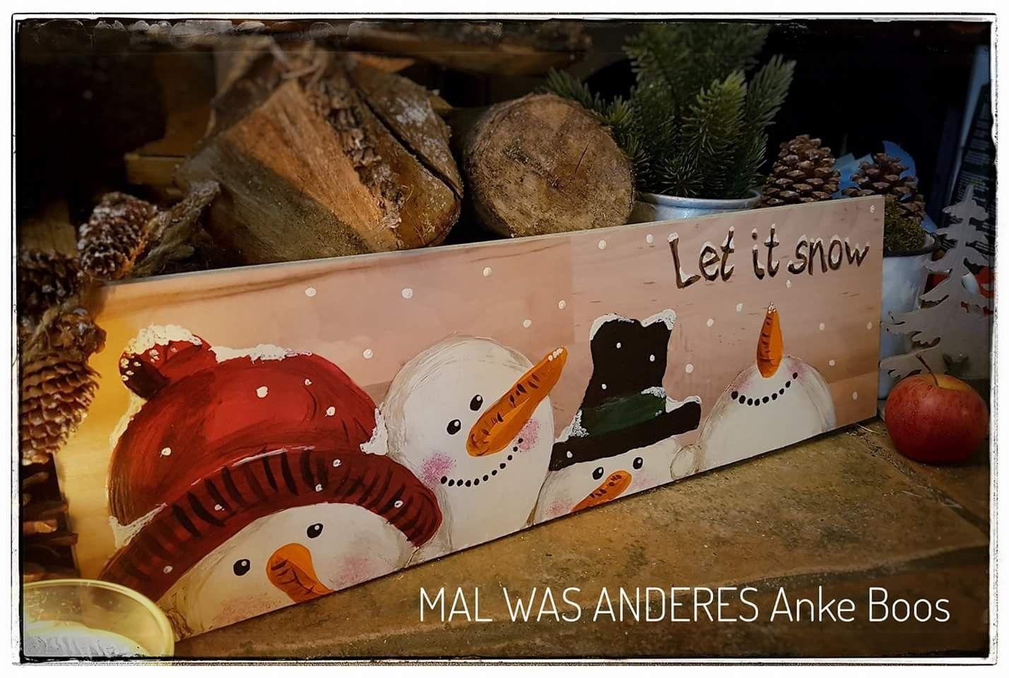 Pin von Anke Boos auf Mein Schilderwald | Pinterest | Schneemann ...