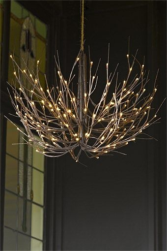 Christmas Gifts Trees Cards Lights More Artificial Twig Chandelier Ezibuy Australia Twig Chandelier Chandelier Lights