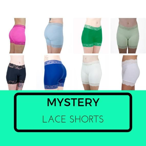 3cb6fff50bbb Mystery Biker Shorts Thigh Chafe Relief Underskirt Shorts Modesty Tap Pants  Cotton Skimmies - BLIND