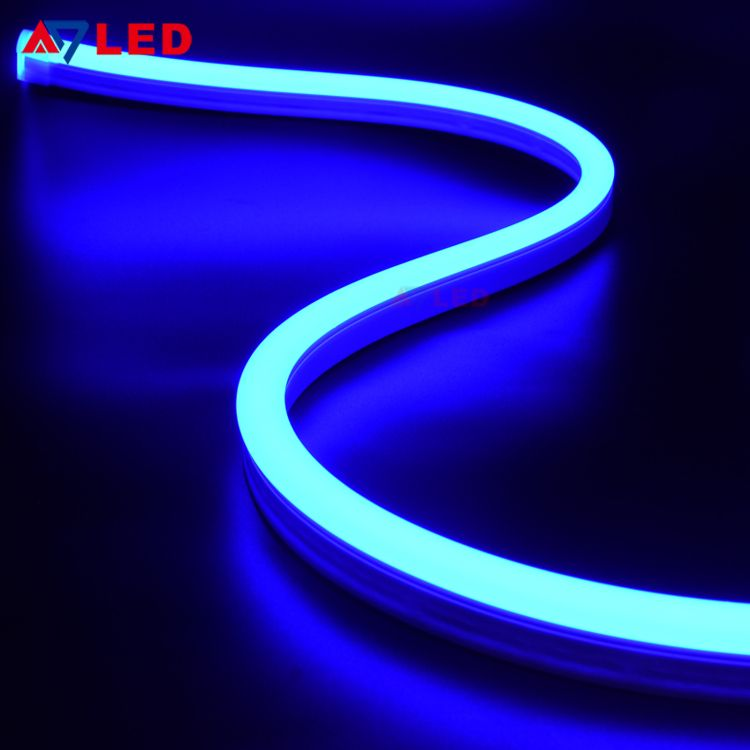 new photos e1cae 72ae7 blue neon light … | Flexible side view silicone led neon ...